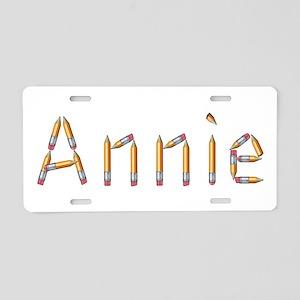 Annie Pencils Aluminum License Plate