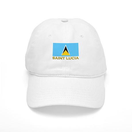 Flag of Saint Lucia Cap