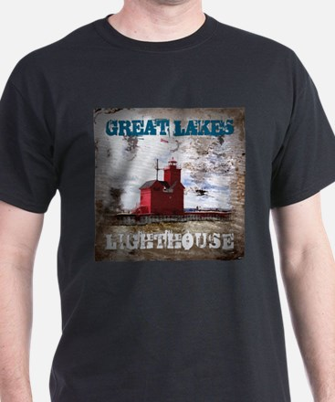 Great Lakes Lighthouse T-Shirt