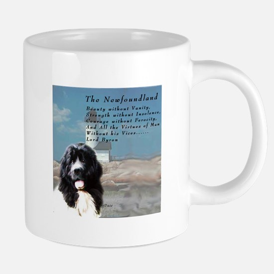 Lord Byron Newf Mugs