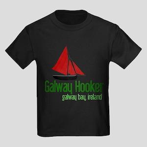 Galway Hooker Kids Dark T-Shirt