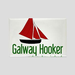 Galway Hooker Rectangle Magnet