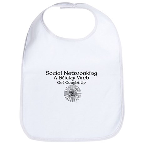 Social Networking A Sticky Web Get Caught Up Bib
