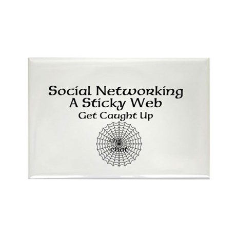 Social Networking A Sticky Web Get Caught Up Recta