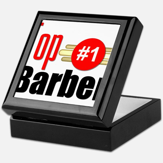 Top Barber Keepsake Box