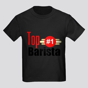 Top Barista Kids Dark T-Shirt
