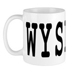 WYSIWYG Mug