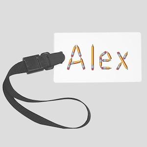 Alex Pencils Large Luggage Tag
