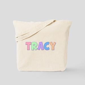 Tracy Rainbow Pastel Tote Bag