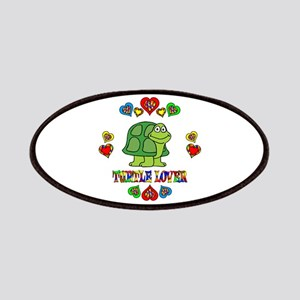 Turtle Lover Patches