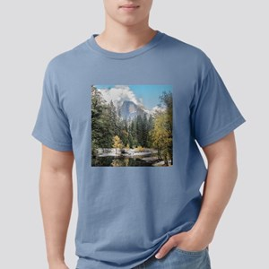 Autumn Mountain & River  Mens Comfort Colors Shirt
