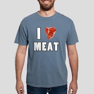 I Heart Meat Mens Comfort Colors Shirt