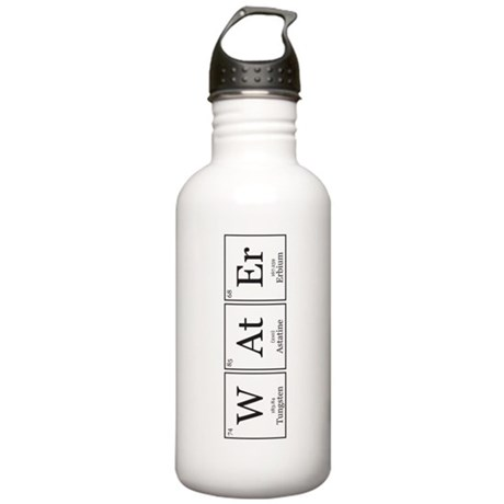 WAtEr [Chemical Elements] Stainless Water Bottle 1
