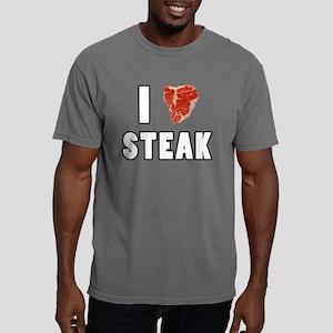 I Heart Steak Mens Comfort Colors Shirt