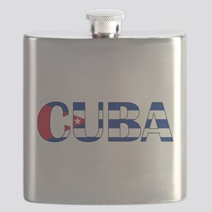 Cuba Logo Flask