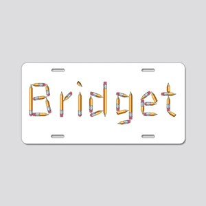 Bridget Pencils Aluminum License Plate