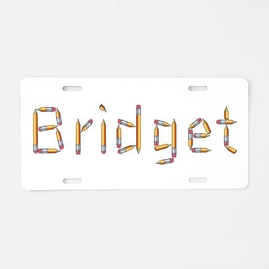 Bridget Pencils Aluminum License Plate