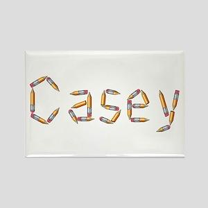 Casey Pencils Rectangle Magnet