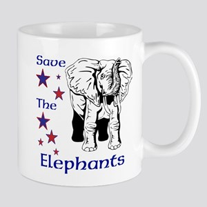 Elephant Rescue In Thailand Mug