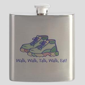 Walk, Eat, Talk Flask