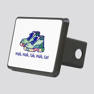 Walk, Eat, Talk Rectangular Hitch Cover