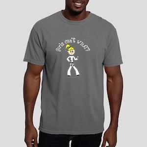 karate-black-light Mens Comfort Colors Shirt