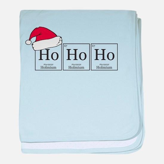Ho Ho Ho [Chemical Elements] baby blanket