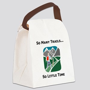 So Many Trails Canvas Lunch Bag