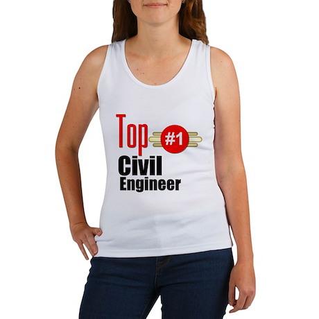 Top Civil Engineer Women's Tank Top