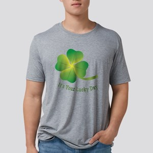 Lucky Day Mens Tri-blend T-Shirt