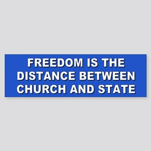 freedom... Bumper Sticker
