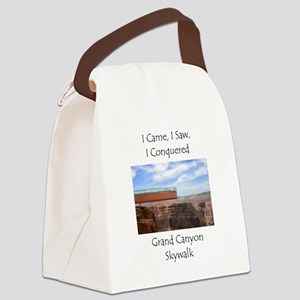 Grand Canyon Skywalk Canvas Lunch Bag