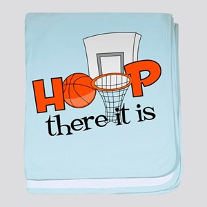 Hoop There It Is baby blanket