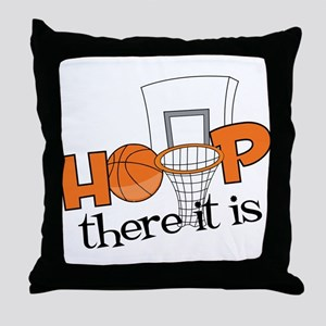 Hoop There It Is Throw Pillow