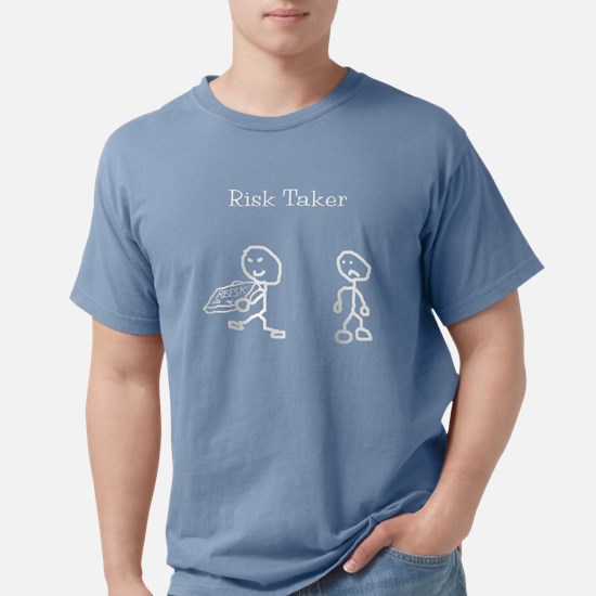 risk taker Mens Comfort Colors Shirt