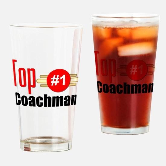 Top Coachman Drinking Glass