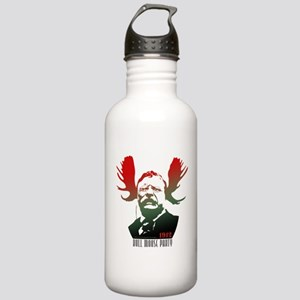 Bull Moose Party Stainless Water Bottle 1.0L