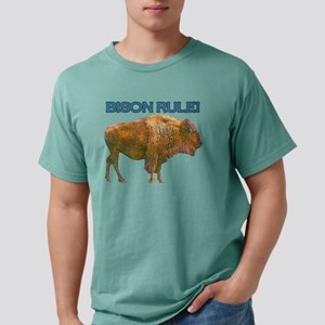 bison rule Mens Comfort Colors Shirt