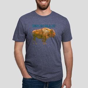 bison rule Mens Tri-blend T-Shirt