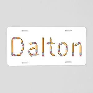 Dalton Pencils Aluminum License Plate
