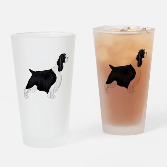 English Springer Spaniel Drinking Glass