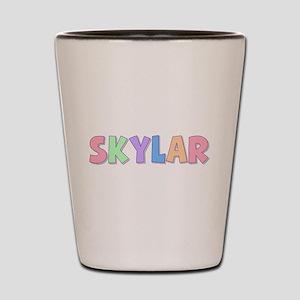 Skylar Rainbow Pastel Shot Glass