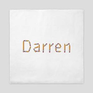 Darren Pencils Queen Duvet