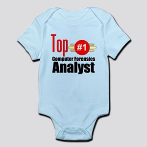 Top Computer Forensics Analyst Infant Bodysuit