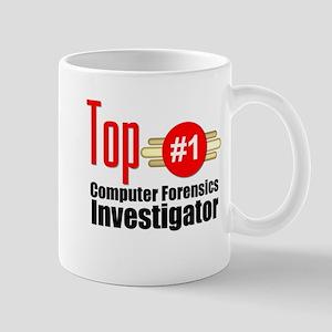Top Computer Forensics Investigator Mug