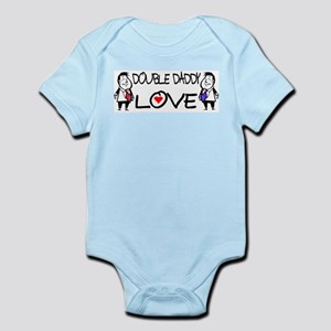 Double Daddy Love Infant Bodysuit