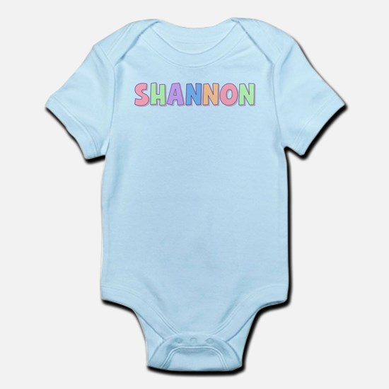 Shannon Rainbow Pastel Infant Bodysuit