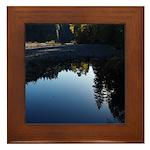 River Reflections Framed Tile