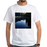 River Reflections White T-Shirt