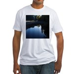 River Reflections Fitted T-Shirt